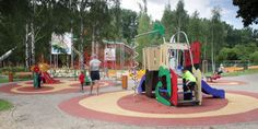 Dětské hřiště Kroužky na Vltavě