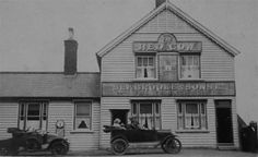 Early postcard of the Red Cow, Canvey Island By Janet Penn Interesting Photos, Cool Photos, Concrete Wall, Under The Sea, New Pictures, Cow, Island, Times, Image