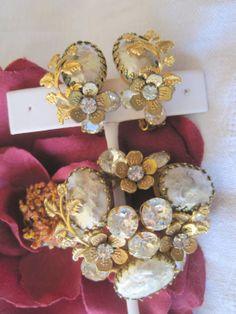 Designer Signed Vintage Regency Brooch Set by VintagObsessions, $135.00