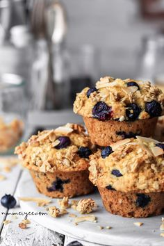 27 Vegan Muffins for Busy Mornings Cereal Recipes, Muffin Recipes, Baking Recipes, Gluten Free Baking, Vegan Gluten Free, Gluten Free Recipes, Dairy Free, Lactose Free, Easy Recipes