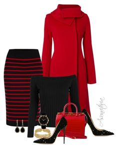 Sin título #2196 by asunvitoria on Polyvore featuring polyvore, fashion, style, Hobbs, Marc by Marc Jacobs, Jimmy Choo, Chanel, Givenchy and clothing