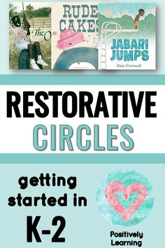 Classroom Meetings - Are you not sure how to introduce restorative practice with your kindergarten, first grade, or second grade students? This is a starter kit with 20 read aloud lesson suggestions that will help establish restorative practice in your classroom. Titles include Each Kindness, Jabari Jumps, We're All Wonders, and many more. #restorativepractice #talkingcircles