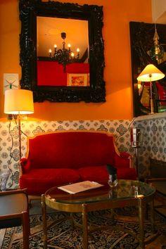 Burlesque themed room for Burlesque bedroom ideas