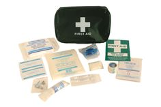 Outdoor First Aid Kit - This kit is specifically designed for those involved in outdoor activities   Contents   4 x Alcohol free wipes 2 x Eyewash pod - 20ml 1 x Guidance Notes 1 x Eye pad dressing 2 x Low adherent dressing 5.0cm x 5.0cm 1 x Microporous tape 2.5cm x 5m 1 x Disposable triangular bandage 30g 20 x Washproof assorted 1 x Resusciade 6 x Safety Pins 1 x Gloves - Vinyl - medium (1pair) Visit our website for more Information