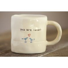 You Are Loved Mug: Perfect for your Valentines Day Cup of Coffee