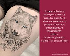 Rosa x Lobo Facebook Sign Up, Feng Shui, Tatoos, Tattoo Meanings, Loyalty, Romanticism, Tattoos, Female Tattoos, Feminine
