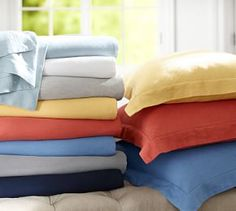 Belgian Flax Linen Sheet Set #Pottery Barn