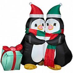 Christmas Inflatable 4' Huggin...
