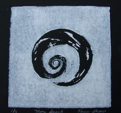 linocut snail - Google Search