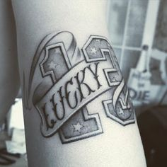 Lucky 13 Tattoo by Ustinovich Maria