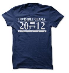 Invisible Obama Empty Chair T-Shirts, Hoodies. ADD TO CART ==►…