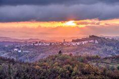Parodi Ligure, le terre del Gavi docg. foto di Maurizio Ravera.