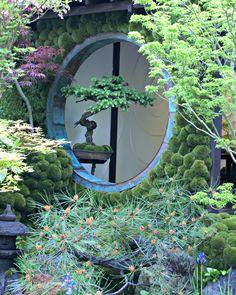 Chelsea flower show Edo no Niwa - Edo Garden by Ishihara Kazuyuki Design Laboratory Chelsea Flower Show, Japanese Gardens, Bonsai Garden, Glass Flowers, Winter Garden, Auckland, Balcony, Garden Design, Zen