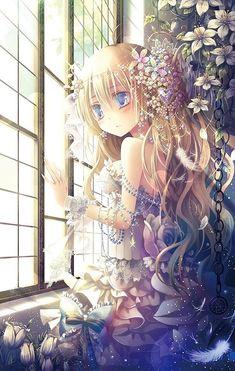 Anime Girl #Manga #Illustration #Anime
