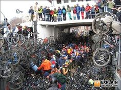 Now, where did I leave my bike!