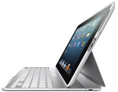 Belkin Ultimate - Keyboard and folio case - Bluetooth - QWERTY - white morefrom