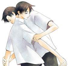 Gimay, xxxHOLiC, Doumeki Shizuka, Watanuki Kimihiro, Grabbing Arm