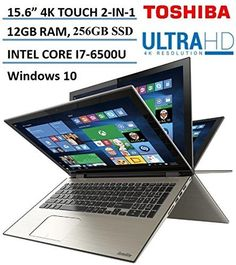 """Toshiba - Satellite Radius 2-in-1 15.6"""" 4K Ultra HD Touch-Screen Laptop - Intel Core i7 - 12GB Memory - 256GB SSD - Carbon Gray   see more at  http://laptopscart.com/product/toshiba-satellite-radius-2-in-1-15-6-4k-ultra-hd-touch-screen-laptop-intel-core-i7-12gb-memory-256gb-ssd-carbon-gray/"""
