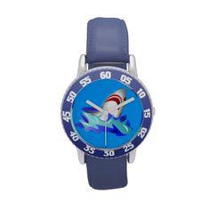 Kids Blue Shark Watch