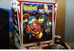 Dirty Donny Art Pinball   Hellacopters: Air Raid Serenade pinball machine. Art by Dirty Donny ...