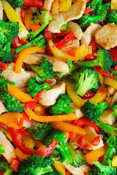 Easy Chicken and Vegetables Stir Fry
