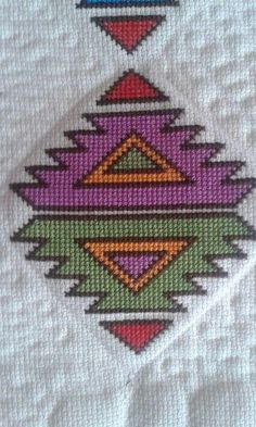 This Pin was discovered by HUZ Basic Embroidery Stitches, Vintage Cross Stitches, Folk Embroidery, Cross Stitch Embroidery, Cross Stitch Borders, Cross Stitch Flowers, Cross Stitching, Cross Stitch Patterns, Bargello Patterns