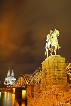 Cologne at Night, Germany