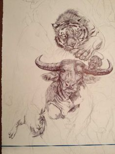 0fa582a00 19-Year-Old Artist Spent Her Summer Drawing This Epic Chinese Zodiac Poster