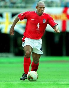 Trevor Sinclair of England in action at the 2002 World Cup Finals. 2002 World Cup, World Cup Final, Finals, England, Action, Running, Sports, Racing, Hs Sports