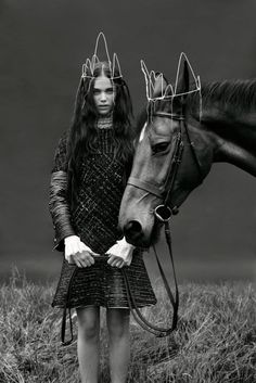 www.pegasebuzz.com | The horse fashion : Sandra Freij for Union Magazine