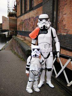 """Papa Es Un Stormtrooper"" - De tal palo..."