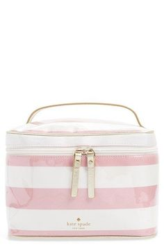 kate+spade+new+york+'java+place+-+large+natalie'+cosmetics+case+available+at+#Nordstrom