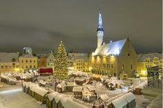Europe's best Christmas market is in Tallinn