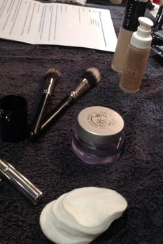 Essentials for a flawless finish   Behind the scenes at Teatum Jones   #LFW #LizEarle