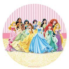 Kit Imprimible GRATIS Princesas Disney