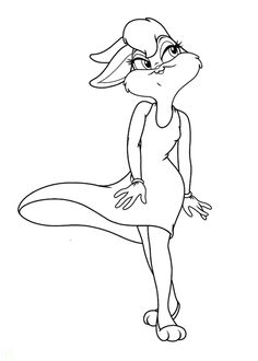 8 Pics of Lola Bunny Coloring Pages Baby Lola Bunny Coloring