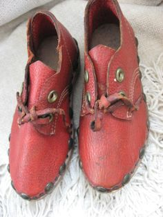 Antique Childs Shoes Vintage German Clogs Handmade Shoes Crafts Folk Art Primitive Rare 1940 or earlier on Etsy, $125.00