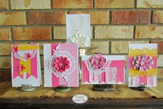 Couture Creations: Simple Card Set by Kerrie Gurney