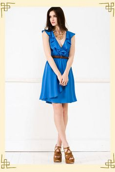 Cloudless Skies Dress, $44 at http://francescascollections.com