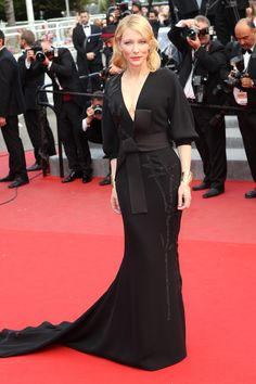 Cate Blanchett in Armani Privé - 2015 Cannes Film Festival