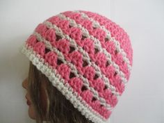 d099bd03360 New Hand Crocheted Women s hat beanie Multi-colored detailed pattern H066   fashion