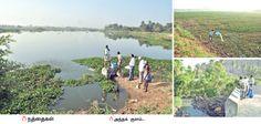 Restructuring the pond - Pasumai Vikatan | கெட்டுப்போன குளத்தை மீட்டெடுத்த இ.எம் | பசுமை விகடன் - 2016-03-10