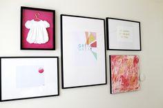 Chris loves Julia: Greta's Art Wall!