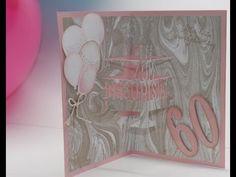 Pop-up Geburtstagskarte mit Thinlits von Stampin Up   Basteln mit der Hobbycompany Quickborn und Stampin`Up Produkten