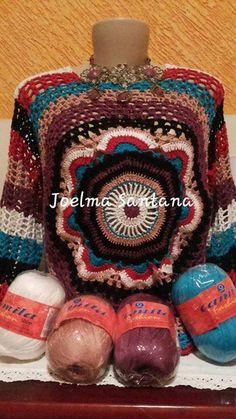 Hoje trago algumas blusas Mandala, feitas pela artesãs que adquiriram minha receita.   Estou muito feliz, pois elas gostaram muito da min...