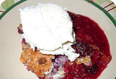 Easy 3-Step Mixed Berry Cobbler Recipe