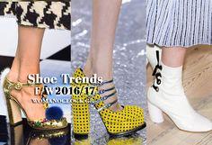 Οι Τάσεις στα Παπούτσια Φθινόπωρο/Χειμώνας 2016 2017. Τα Top 6 Trends! Fashion Trends, Shoes, Zapatos, Shoes Outlet, Shoe, Footwear, Trendy Fashion