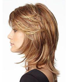 13+ Outstanding Medium Layered Choppy Hairstyles for Women