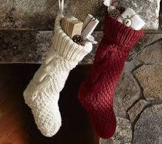 calcetines de navidad para la chimenea - Buscar con Google