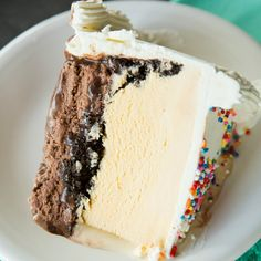 A homemade version of the ever-popular Dairy Queen Ice Cream Cake with more fudge and more crunchies!